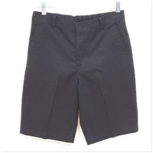 *BOYS* Black Dress Shorts, size 16 L / XL Large